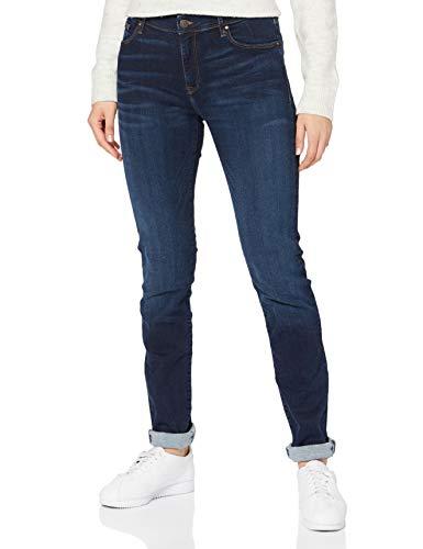 Cross Jeans Damen Anya P 489-146 Slim Jeans, Blau (Dark Blue 136), W26/L32
