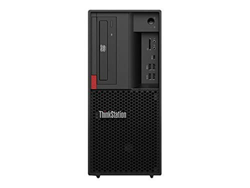 Lenovo ThinkStation P330 (2nd Gen) Tower 30CY0025UK, Intel Core i7-9700 Eight Core (3GHz, 12MB Cache, Intel Turbo Boost up to 4.8GHz), 16GB DDR4, 1TB SSD, DVDRW, Windows 10 Pro. (Renewed)