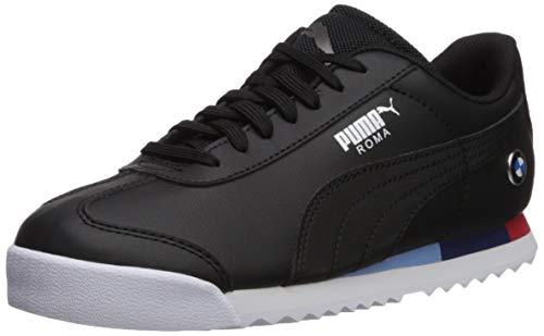 Puma – Zapatillas unisex para niños BMW MMS Roma, Negro/Negro, 11 MX Niñito