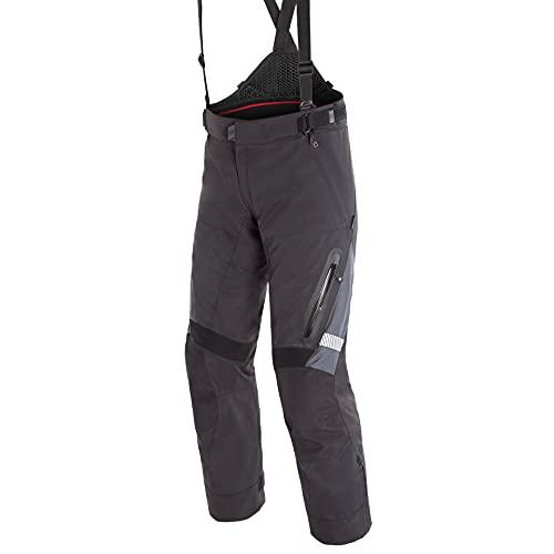 Dainese Motorradhose Grand Turismo GTX Textilhose schwarz/grau 26 (52 kurz), Herren, Tourer, Ganzjährig