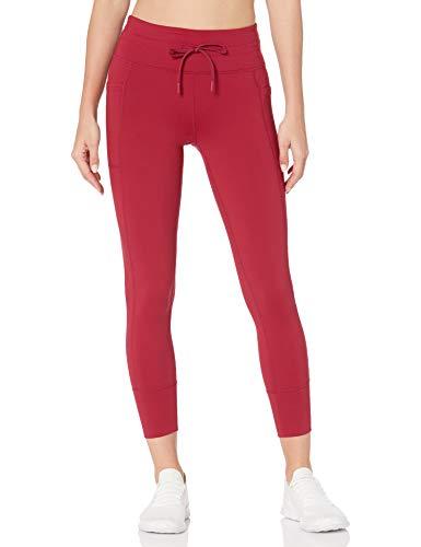 Skechers Gowalk Jogging Pantalones de Yoga, Bet Rojo, XXL para Mujer