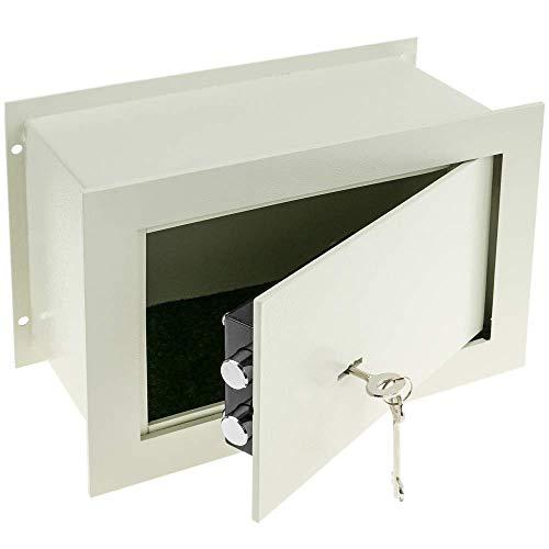 PrimeMatik - Caja Fuerte de Seguridad empotrada de Acero con