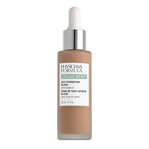 Physicians Formula Organic Wear Silk Foundation Elixir, 7 - Tan, 1 Fl Ounce