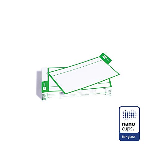 PATboard Scrum Board und Kanban Tafel - 16 Task Cards - Haftnotizen mit nanocups® für Glas - Grün