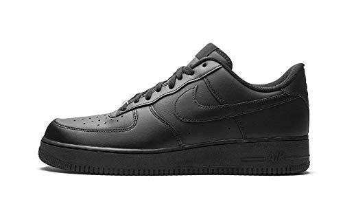 Nike Air Force 1 '07, Zapatillas de bsquetbol Hombre, Negro, 41 EU