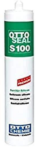 OttoSeal S100, das Premium- Sanitär- Silicon, 300ml Farbe: C84 PERGAMON