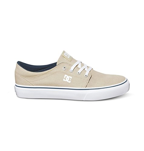 DC Herren Trase Tx Damen-Skater-Schuh, cremefarben, 45.5 EU