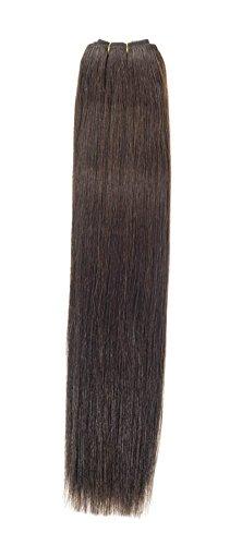 Euro soyeux tissage | Extensions de cheveux humains | 45,7 cm | brownest Marron (2) American Pride