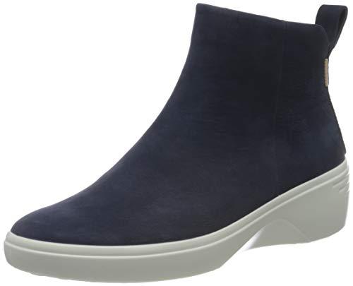 ECCO Damen Soft 7 Wedge W Ankle Boot, Blau (Night Sky), 42 EU