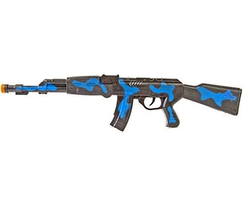 Nick and Ben Ratta-Gewehr 42cm Sturmgewehr-47 Spielzeug-Pistole-Waffe Kinder-Kostüm Verkleidung Fasching Karneval Pistole Maschinengewehr Soldat SWAT