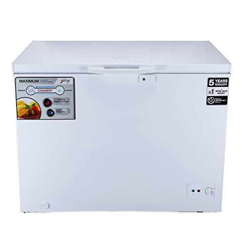 Godrej 200 L Deep Freezer DpFrz GCHW210R6SHC Htop White )