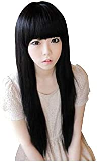 Long Black Fashion Wig for Women
