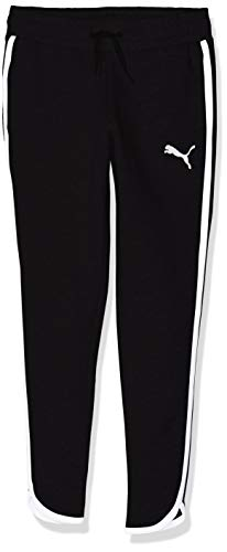 PUMA Mädchen Alpha Sweat Pants TR G Jogginghose, Cotton Black, 140