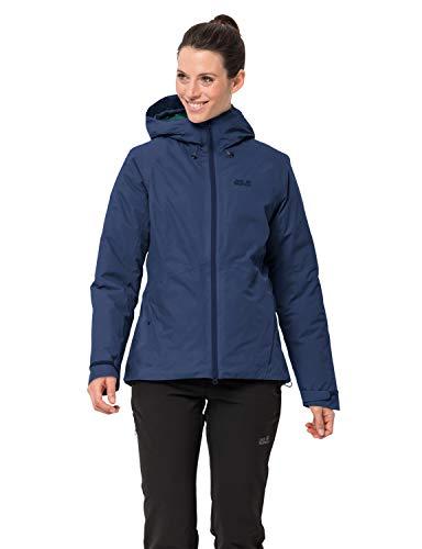 Jack Wolfskin Damen Argon Storm Jacket W Wetterschutzjacke, Porcelain Blue, S