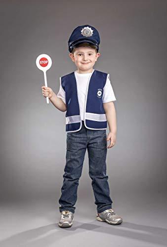 Kinder Kostüm Polizeiweste für Kinder, Größe 104