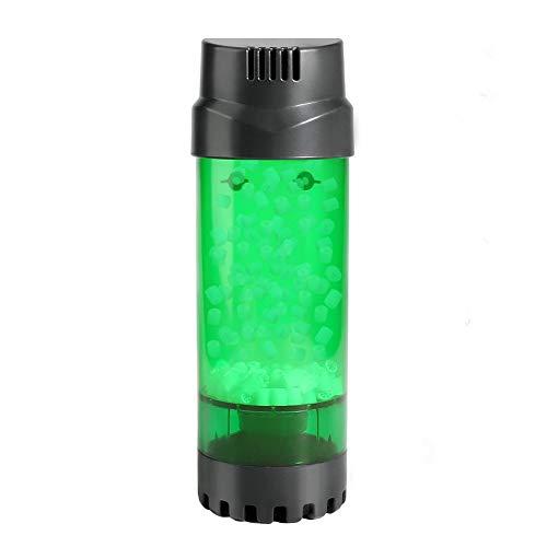 Intsun Aquarium Filter, Aquarium Sponge Filter Moving Bed Media Filter Fluidised Bed Filter for Fish Tanks