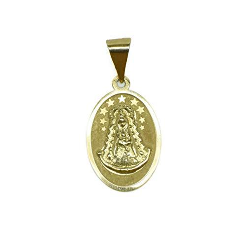 Medalla de Oro de 18 Klts J. Luis JC-J.L-MED-039 (Virgen del Rocío)