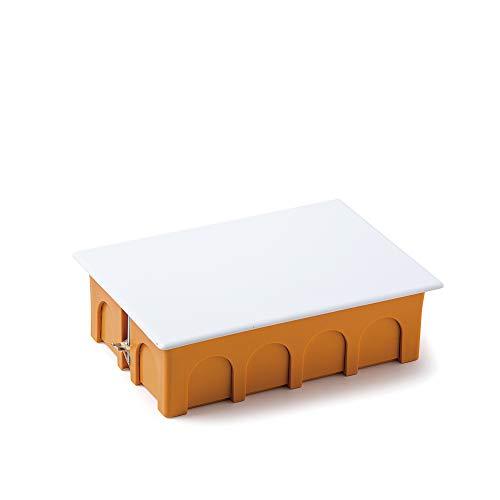 FAMATEL 3252-Scatola da incasso cartongesso, 160 x 100 x 50 coperchio