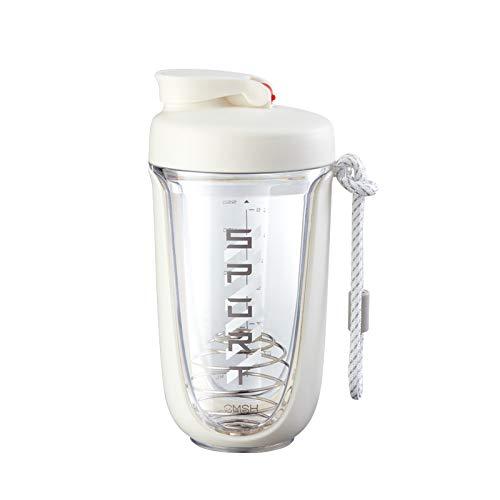 Botella de coctelera/taza de batido creativa/taza de batido de proteína en polvo / taza de fitness deportiva