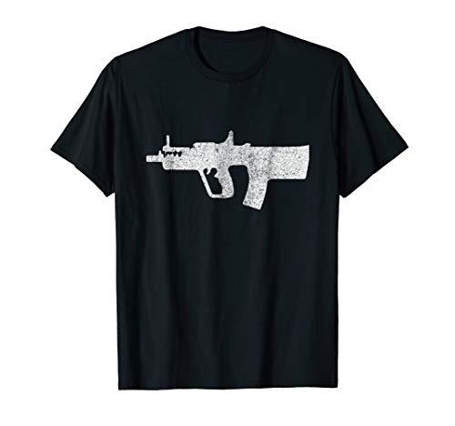 MTAR 21 Bullpup Assault Rifle Tshirt Gift Retro Distressed
