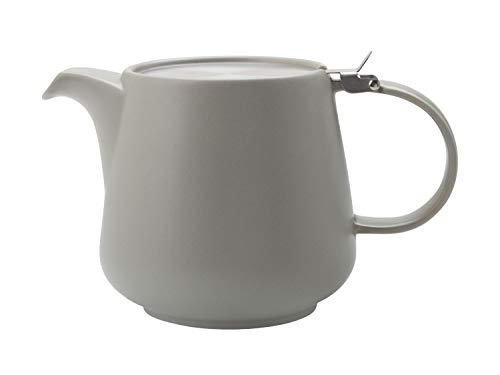 TINT Teekanne 1200 ml, Hellgrau, Keramik/Edelstahl / Maxwell & Williams