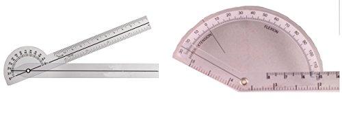 AnthroFlex Goniometer Set of 2 for Hand, Finger, Wrist