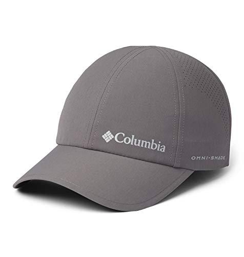 Columbia Silver Ridge III, Gorra unisex, Fibra sintética, Color: Gris (City Grey), Talla universal (Ajustable), Art. 1840071