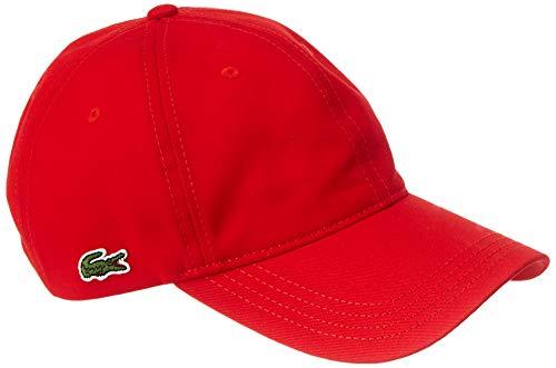 Lacoste Herren Rk4709 Schirmmütze, Rot (Rouge 240), One Size (Herstellergröße: TU)