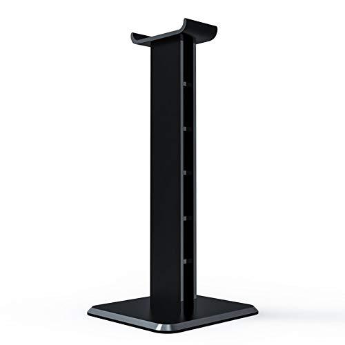 RoxTop Z1 Universal para Auriculares Soporte de acrílico del Auricular del sostenedor del Soporte de visualización para Auriculares para Juegos (Negro)
