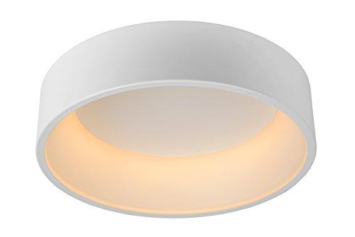 Lucide 46100/32/31 Plafonnier, Aluminium, Intégré, 32 W, White, 53 x 53 x 16 cm