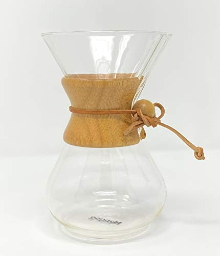 Chemex koffie met houten hals - 6 kopjes