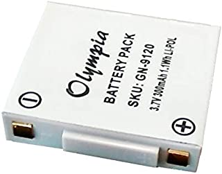 GN-14151-01 Replacement Battery for Jabra GN Netcom 9120, 9125, AHB602823, SG081003 Wireless Headset (300mAh, 3.7V, Li-Pol)