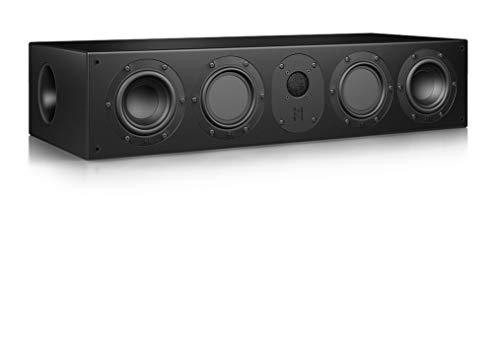 Nubert nuLine CS-174 Centerlautsprecher | Lautsprecher für Heimkino & Musikgenuss | Stimmen auf hohem Niveau | Passive Centerbox mit 3 Wege Technik Made in Germany | Kompaktlautsprecher Schwarz