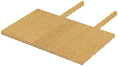 Brasilmöbel blat 50 x 80 dąb jasny Rio Classiko lub Rio Kanto – przedłużenie stołu z pinii z prawdziwego drewna – rozmiar i kolor do wyboru – do stołu do jadalni, stół drewniany, stół rozkładany