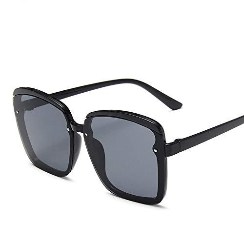 Gafas De Sol Cuadradas con Montura De Pc para Mujer Vintage, Anteojos De Gran Tamaño para Hombre, Gafas De Tendencia, Gafas para Mujer, Caliente 1
