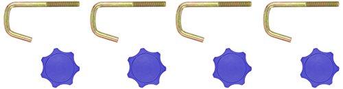 R.P.L. 60015 - Schraubensatz für Schlittenlehne Ersatz