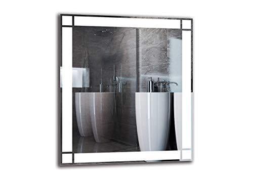 Espejo 80X70 Marca ARTTOR Espejo - LED PREMIUM