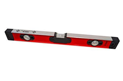 HEKA Magnetische digitale LED Aluminium Wasserwaage Opto 60, 80, 100, 150, 180, 200 cm mit akustischem Signal (60 cm)