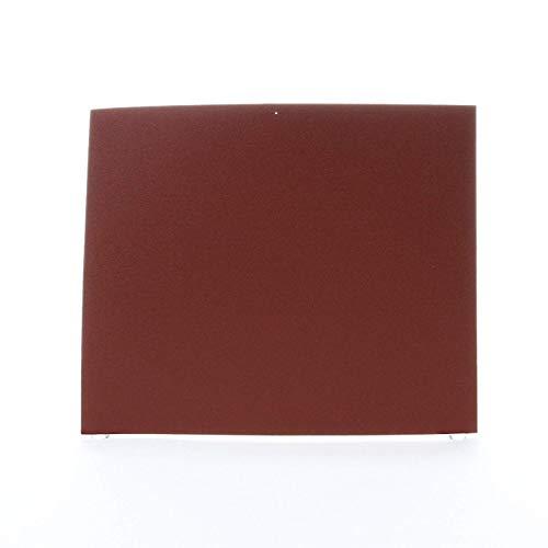 3M 314D Sanding Sheet, 11 in L x 9 in W, 80/Medium, Aluminum Oxide Abrasive, J-Weight Cloth Backing