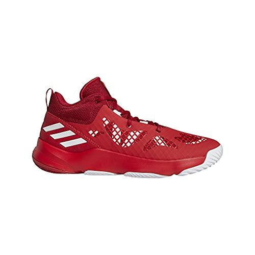 adidas Pro N3XT 2021, Zapatillas Unisex Adulto, Escarl/FTWBLA/ROVIEQ, 41 1/3 EU