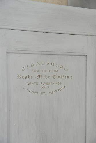 Jeanne d'Arc Living Vintage Stencil Clothing Shabby Chic Schablone Vintage Paint Kunststoff Wiederverwendbar 35x21 cm Nostalgie Schablone