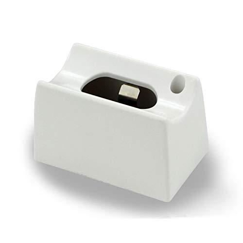 LEDmaxx S14DWH A, Fassung Linienlampe für Osram Linestra Ralina ein Sockel, 60 W, S14d, weiß, 7 x 4 x 4.5 cm