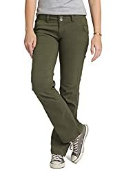 prAna Women's Tall Inseam Halle Pant, 4, Cargo Green
