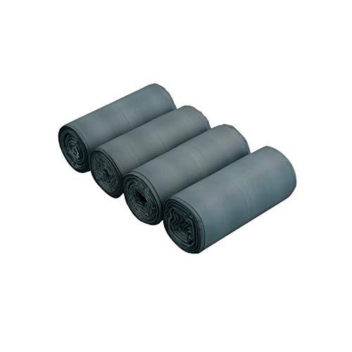 Cadine Bolsas de Basura 5 litros, Compostables, Gris, 140 Bolsas Biodegradables Basura