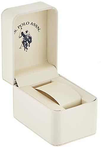 U.S. Polo Assn. Women's USC40063 Gold-Tone and Pink Bracelet Watch