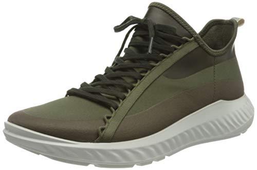 ECCO Herren ST1 Lite M GrapeLeaf Sneaker, Grün (Tarmac/Grape Leaf), 41 EU