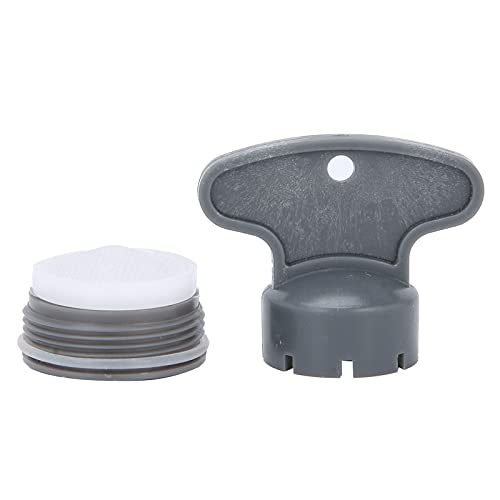 Filtro de aireador, evita salpicaduras de agua Burbujeador de grifo para hogares Hoteles Instalaciones públicas para instalación y reemplazo de accesorios de grifo(M20 outer screw)