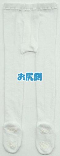 ベビーストーリーベビー&キッズ綿混タイツ白65cmNM10001