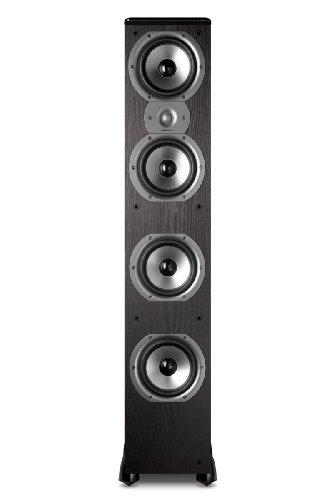 Polk Audio TSi500 Floorstanding Speaker (Single, Black)
