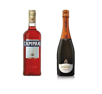 Campari Spritz Bundle: Campari with Cinzano Prosecco